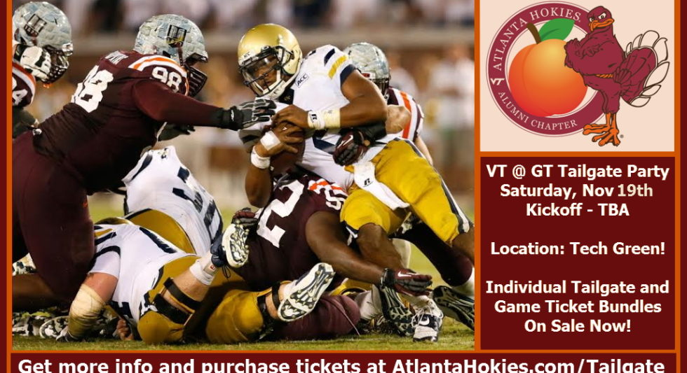 2019 VT vs GT Pregame Tailgate Party!