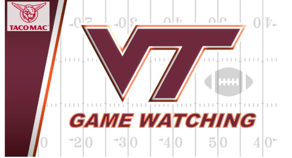Atlanta Hokies 2019 Football Game Watching